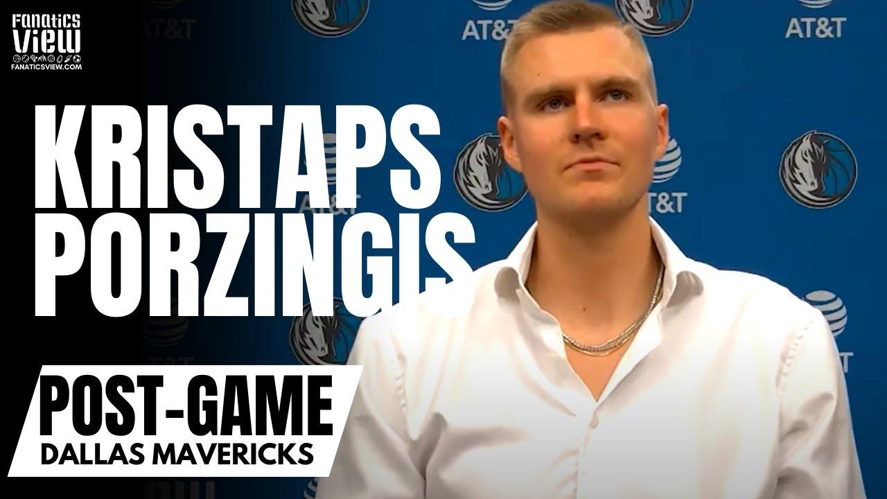 Kristaps Porzingis Responds to Luka Doncic Chemistry Concerns: