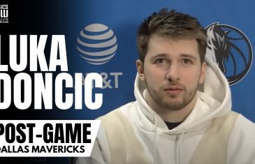 "Luka Doncic on Facing Box-And-One Defenses & Loss vs. Toronto: ""I Don't Like Losing. It's Terrible"""