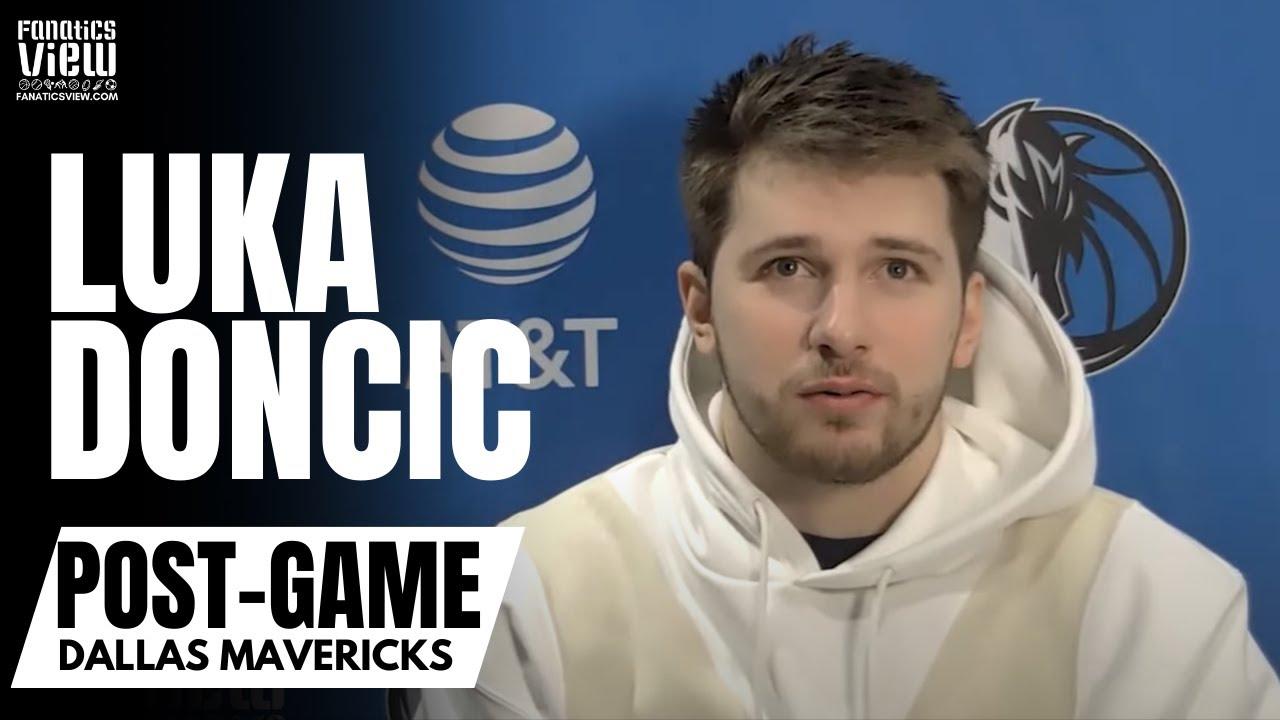Luka Doncic on Facing Box-And-One Defenses & Loss vs. Toronto: