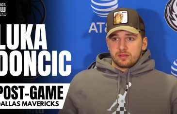 """Luka Doncic on Knicks Fans Booing Kristaps Porzingis: """"We Saw This Last Year"""" & Jamahl Mosley Impact"""