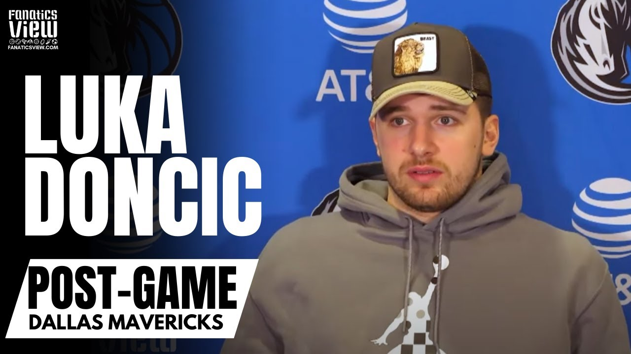Luka Doncic on Knicks Fans Booing Kristaps Porzingis: