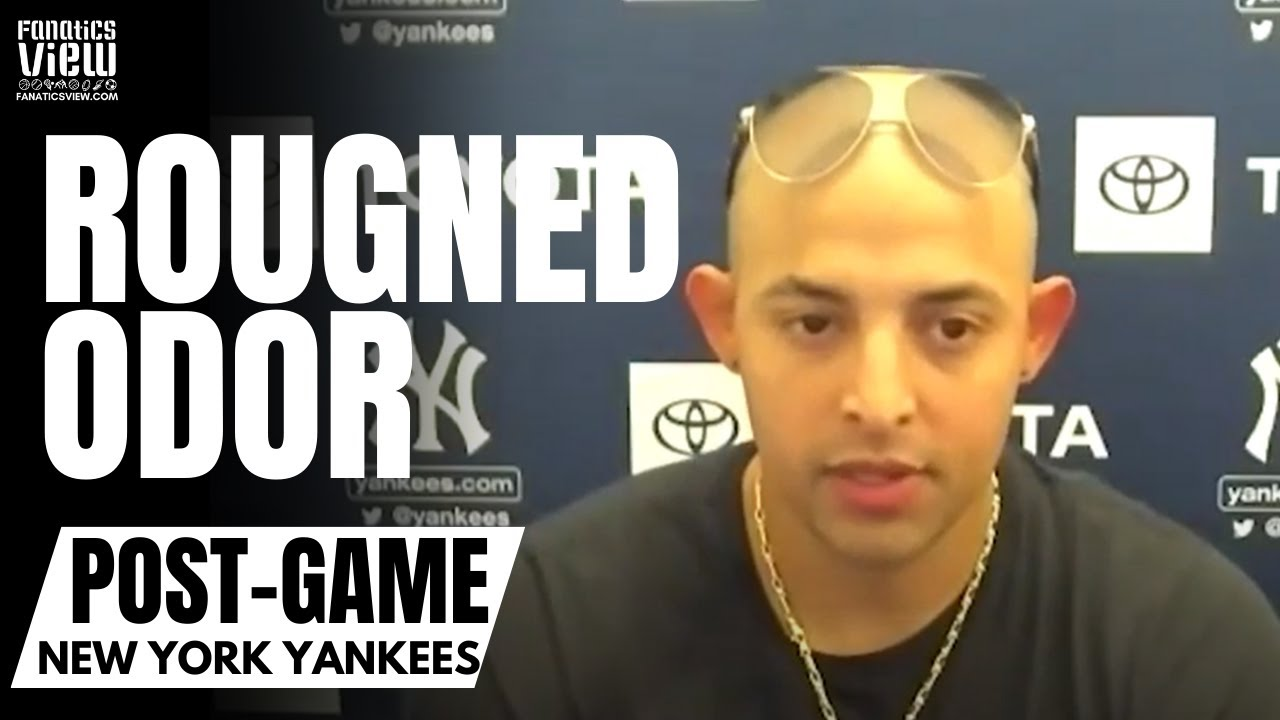 Rougned Odor Reacts to Getting Game Winning Hit in His New York Yankees Debut & Chip On Shoulder