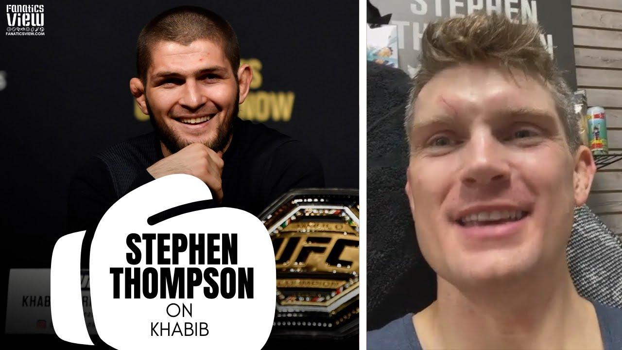 Stephen Thompson on Khabib Nurmagomedov Meeting With Dana White: