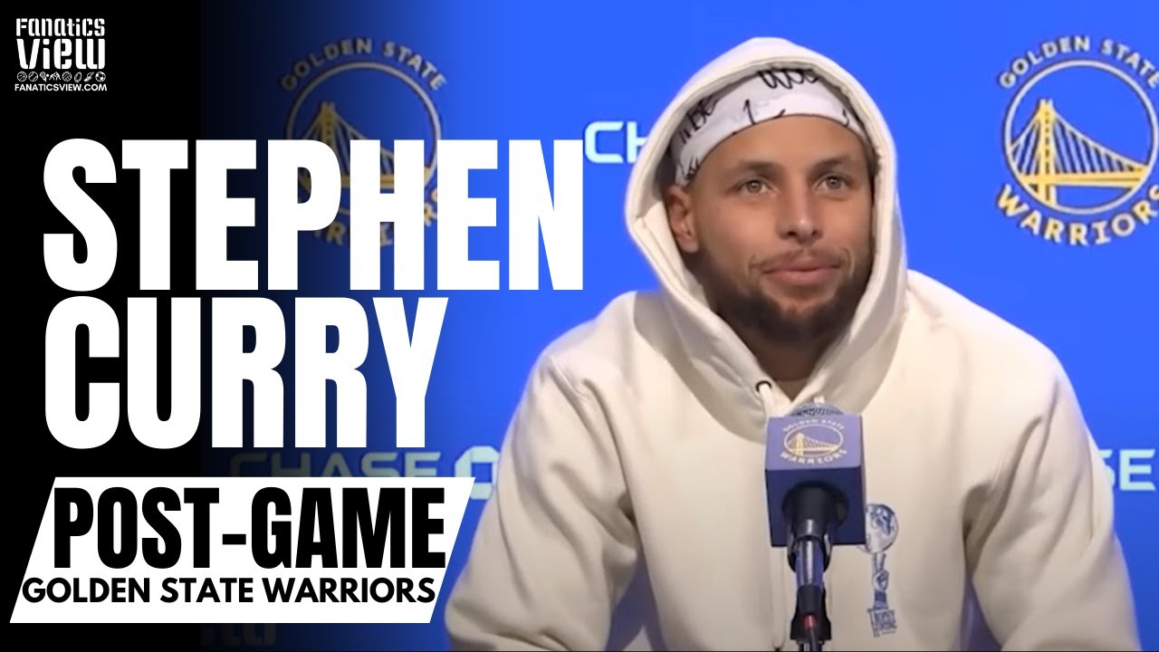 Steph Curry Reacts to Dallas Mavs Blowout Win vs. Warriors &