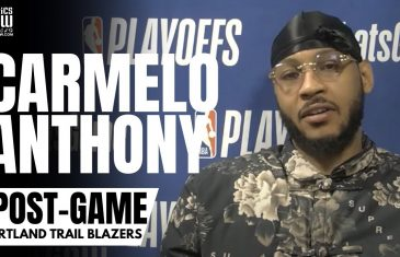 """Carmelo Anthony Reacts to Denver Fans Booing Him: """"I Gave My All Here, I've Never Said Anything Bad"""""""