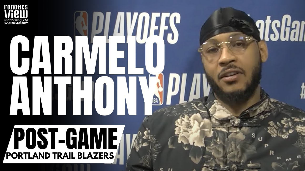 Carmelo Anthony Reacts to Denver Fans Booing Him: