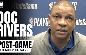 """Doc Rivers Blunt Reaction To Ben Simmons Being a Championship Point Guard: """"I Don't Know"""""""