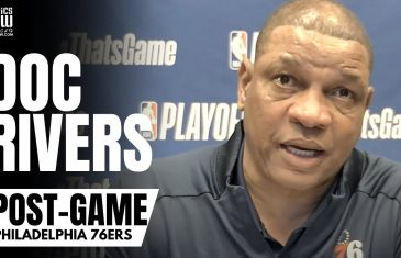 """Doc Rivers Reacts to 76ers Blowing 26 Point Lead vs. Atlanta & Proclaims """"Will Be Back for Game 7"""""""