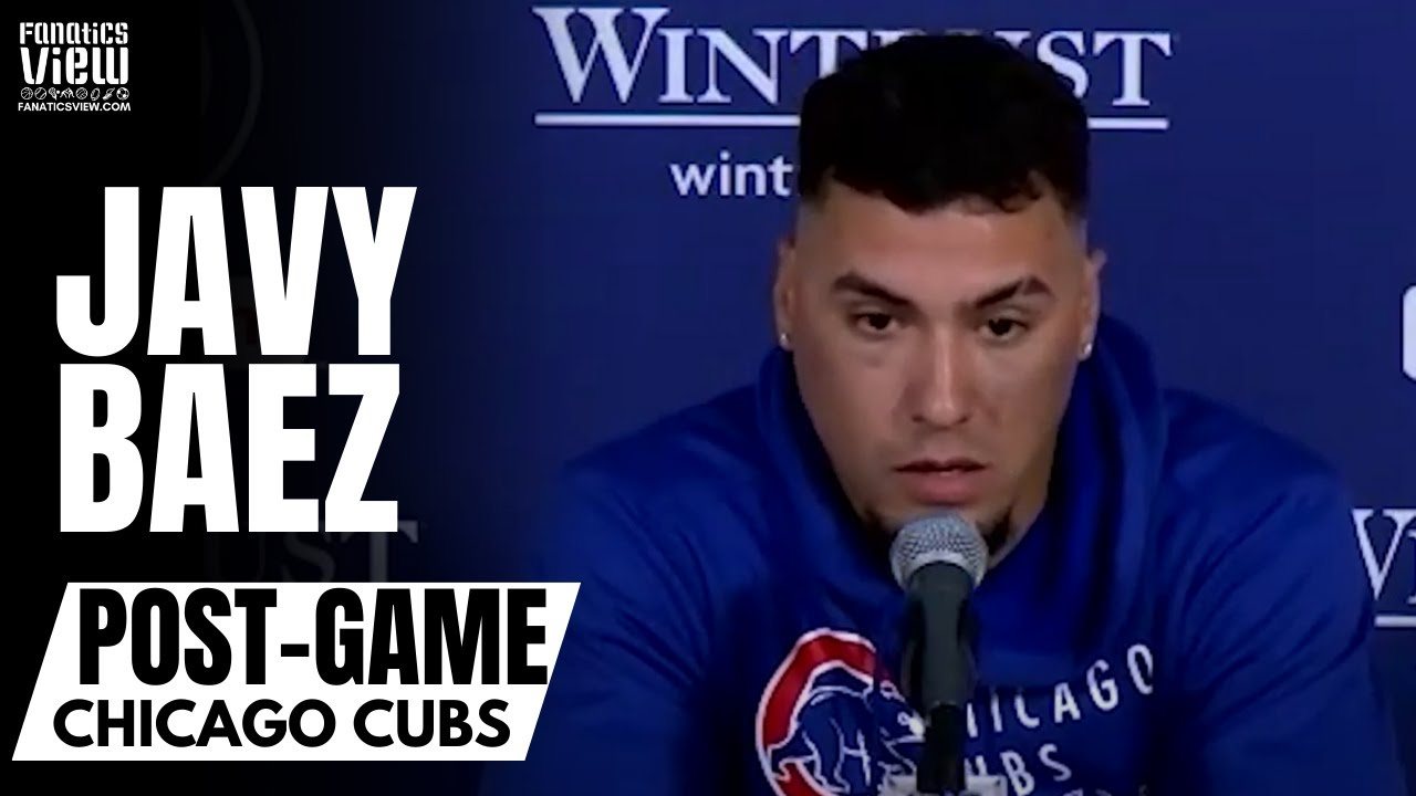Javy Baez Reacts to Getting Benched by David Ross:
