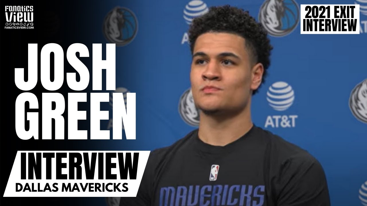 Josh Green Recaps His Rookie Season With Dallas, Learning From Watching & Growing Confidence