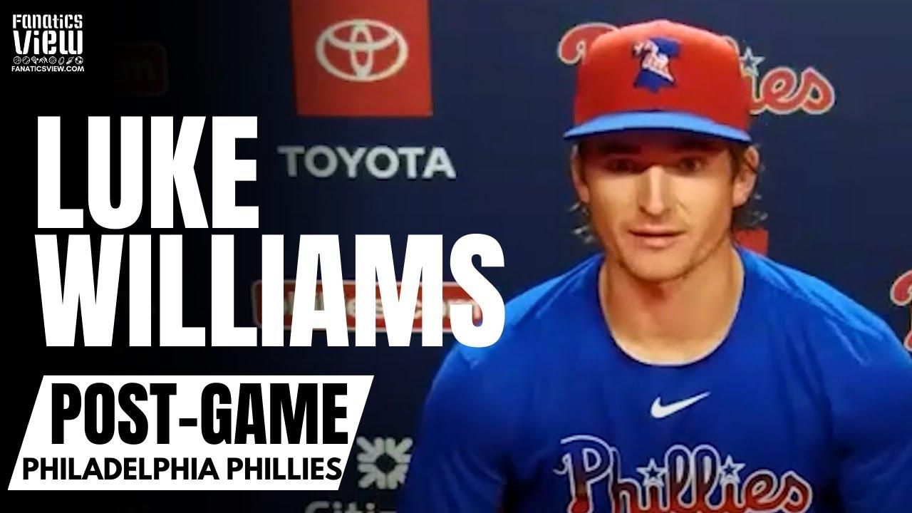Luke Williams talks Surreal Journey from Team USA to Walk-Off Homer for Philadelphia Phillies