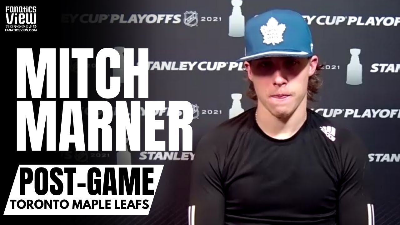 Mitch Marner Reacts to Leafs Losing Game 7 vs. Montreal, Not Scoring a Goal & Defends Jack Campbell