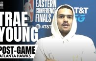 """Trae Young Responds to Atlanta Hawks Ceiling: """"There's No Ceiling, Unless You Put the Finals On it"""""""