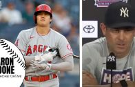 """Aaron Boone Shares His Thoughts on Shohei Ohtani: """"He's Elite at Two Things. Truely Impressive"""""""