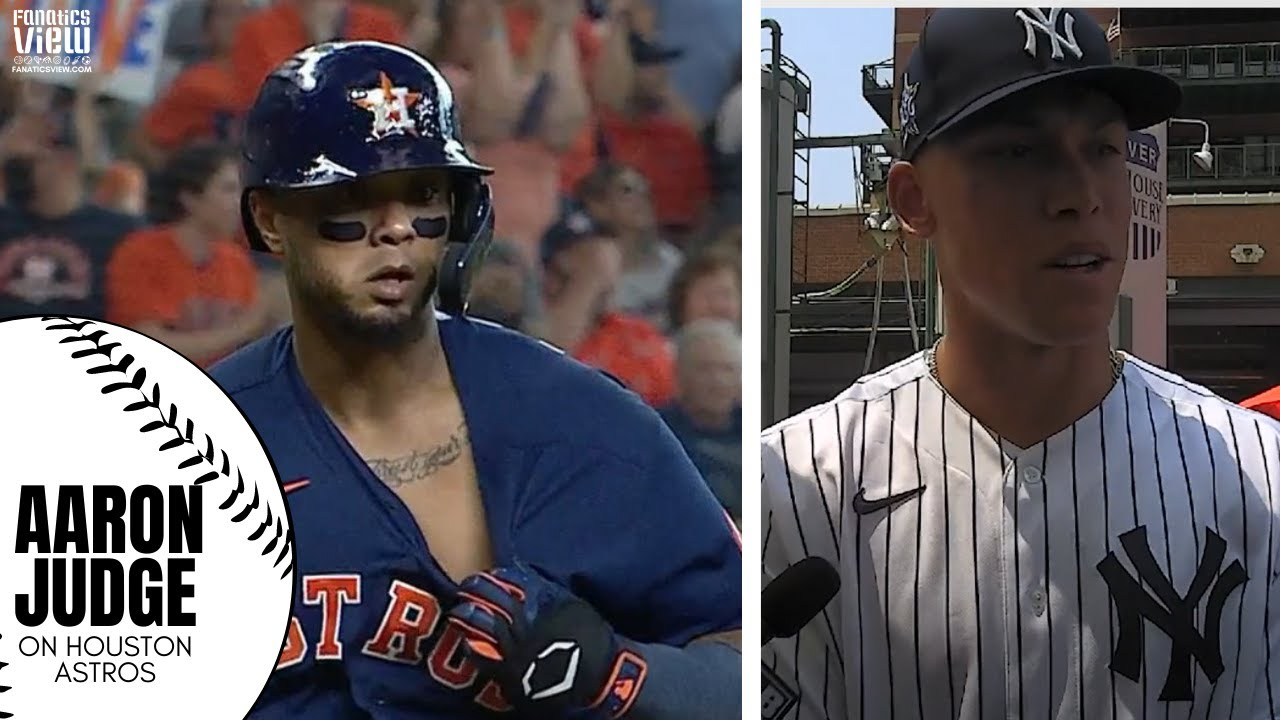 Aaron Judge Responds to Houston Astros Skipping MLB All-Star Game & Trolling from Astros Series