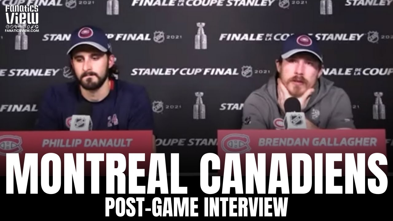Brendan Gallagher Gets Choked Up After Montreal Stanley Cup Loss: