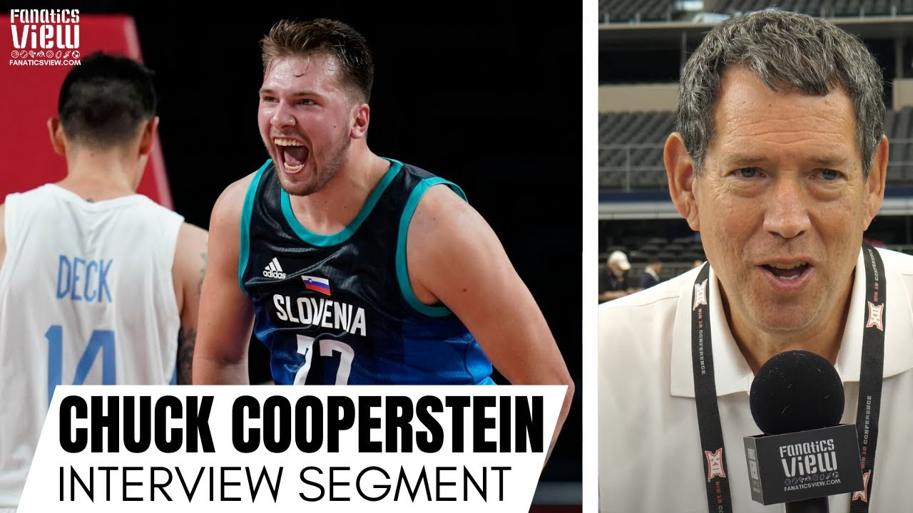 Chuck Cooperstein Explains Why Luka Doncic Medaling Would Be Most Historic Olympic Basketball Feat