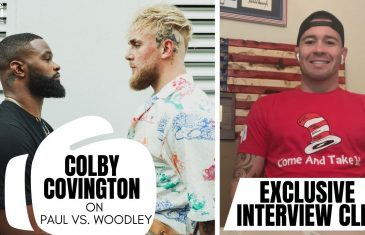 Colby Covington Predicts Jake Paul vs. Tyron Woodley Boxing Match in Exclusive Interview With Fanatics View