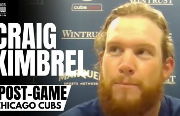 Craig Kimbrel Reacts to Chicago Cubs Throwing a Combined No-Hitter & Cubs Lights Out 2021 Bullpen