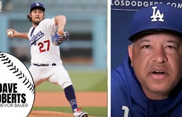 Dave Roberts Reacts to Trevor Bauer Allegations, Reveals Bauer Will Pitch While MLB Investigates