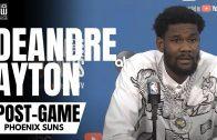 Deandre Ayton talks Devin Booker/Chris Paul Relationship as a Trio & Suns Game 1 Win vs. Bucks