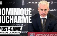 Dominique Ducharme Reacts to Montreal Canadiens Falling Down 3-0 vs. Tampa in Stanley Cup Finals