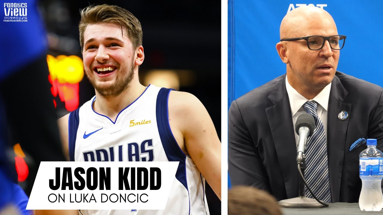 Jason Kidd Gives His Impressions of Luka Doncic & Responds to Seeing Himself in Luka's Game