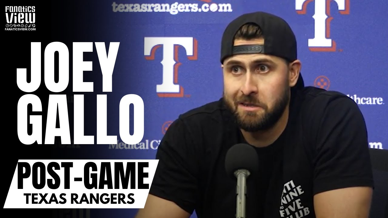 Joey Gallo Reacts to Willie Calhoun's Terrible Luck of Injuries & Baseball Not Just About