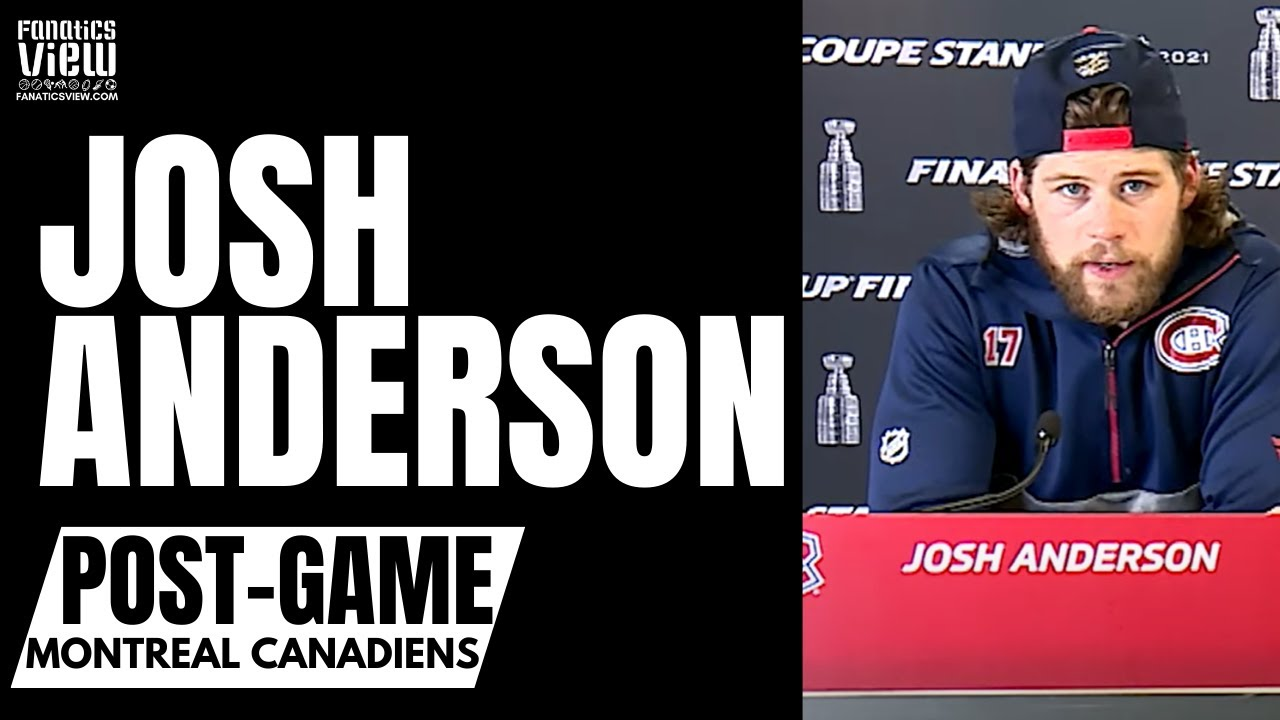 Josh Anderson on Montreal Canadiens Battling Out Game 4 Win vs. Tampa: