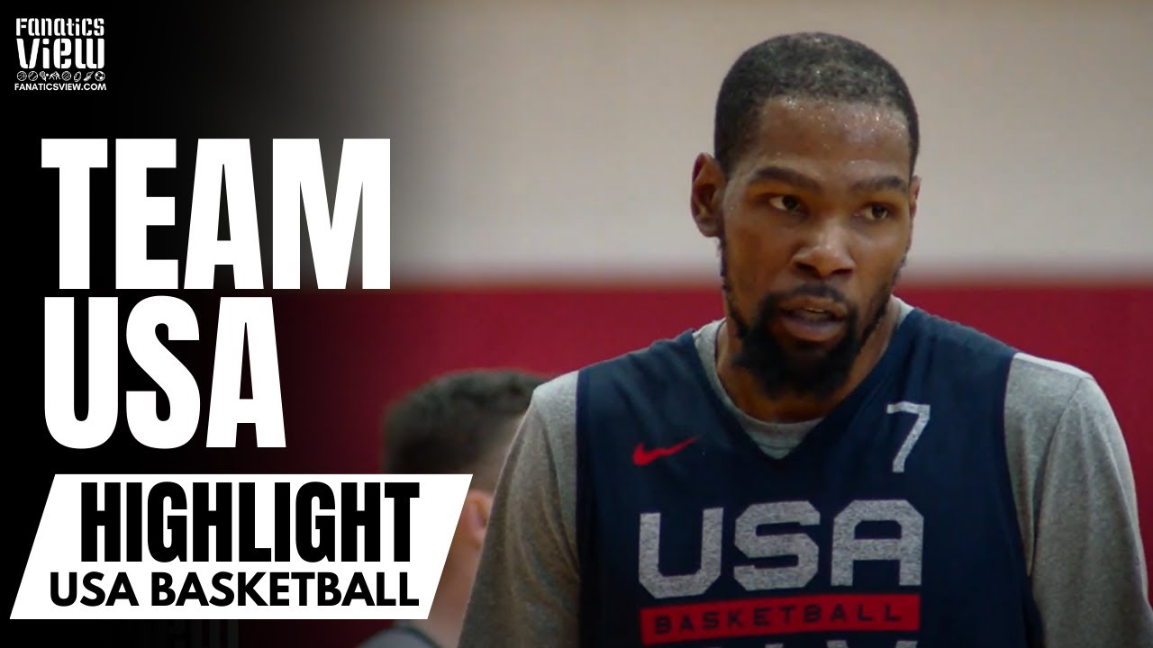 Kevin Durant, Damian Lillard, Bam Adebayo & Team USA Building Connections at Day 2 of Practice