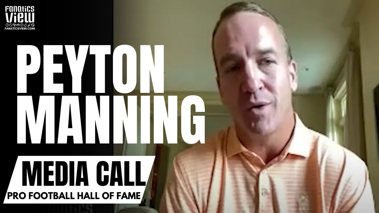 Peyton Manning Reacts to Becoming a Pro Football Hall of Famer & Reflects on Career in NFL