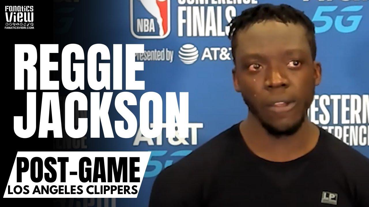 Reggie Jackson Gets Emotional Speaking on LA Clippers:
