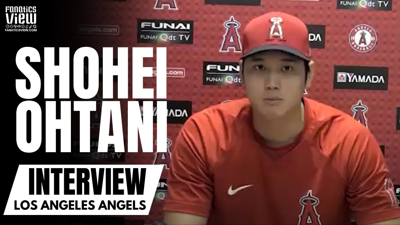 Shohei Ohtani talks Becoming an MLB All-Star, Getting Fan Support Across MLB & His Power