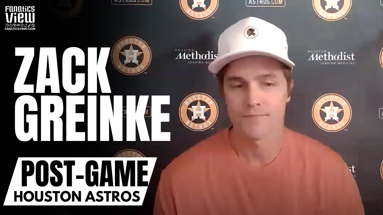 Zach Greinke Honest About Struggles in Not Getting Strikeouts & Reacts to MLB All-Star Consideration
