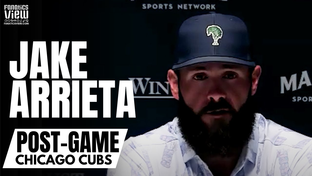 Jake Arrieta Reacts to Cubs Trading Core of World Series Team: