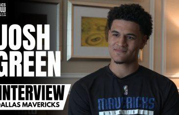 Josh Green talks Australia Olympics, Luka Doncic Tokyo Performance & Takes Question from Brunson 😂