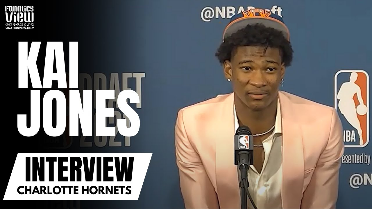 Kai Jones Reacts to Being Drafted by Charlotte Hornets &