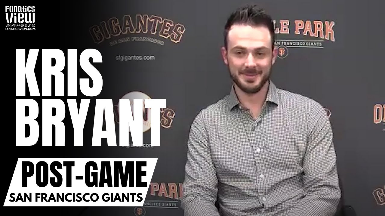 Kris Bryant Reacts to Being Traded to San Francisco Giants & Reflects on Chicago Cubs Career