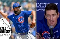 """Javy Baez Reacts to Getting Benched by David Ross: """"I Was Just Surprised"""""""