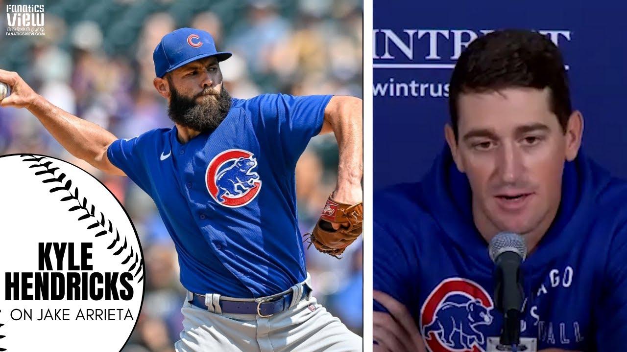 Kyle Hendricks Reacts to Cubs Releasing Jake Arrieta, Jake's Legacy: