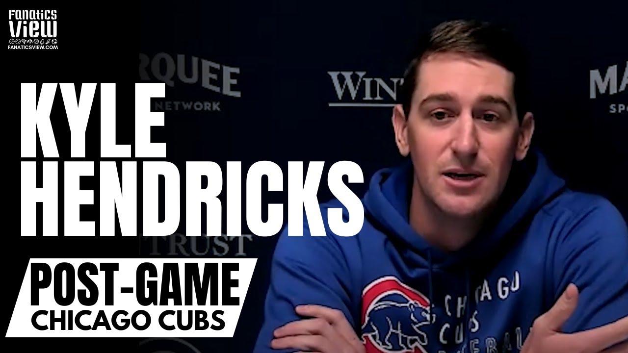 Kyle Hendricks Reacts to Javy Baez, Anthony Rizzo & Kris Bryant Trades: