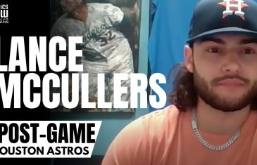 """Lance McCullers Jr. """"Enjoyed"""" Boo's from LA Dodgers Fans & Kendall Graveman """"So Nasty""""   ASTROS"""