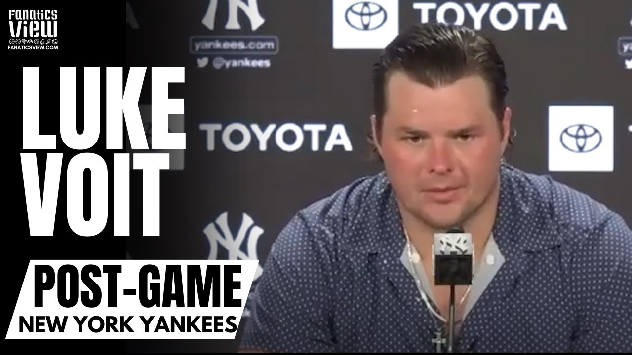 Luke Voit Reacts to Yankees Trading for Anthony Rizzo, Returning & Being Mentioned in Trade Talks