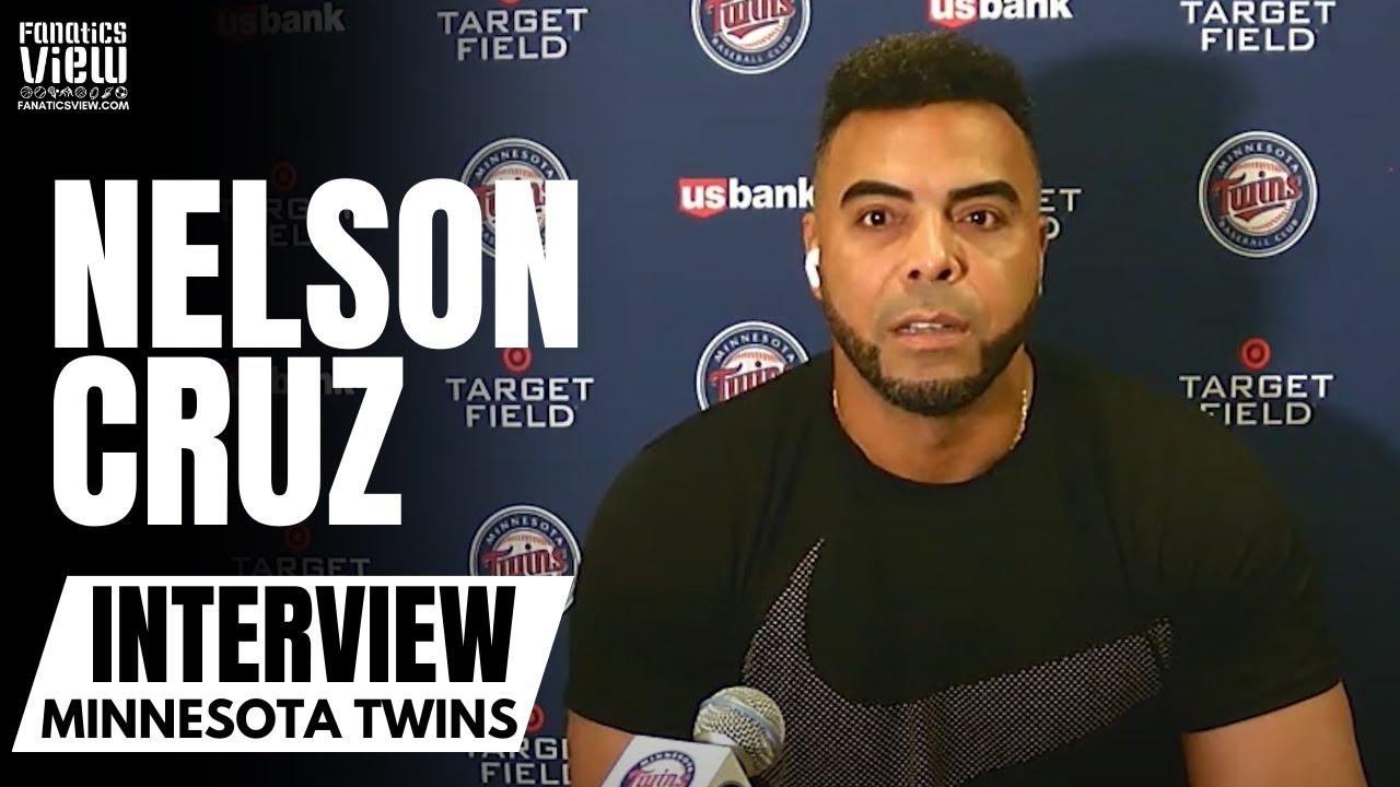 Nelson Cruz Reacts to Emotional Trade to Tampa Bay Rays & Minnesota Twins