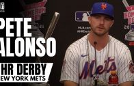 """Pete Alonso on Becoming Back-to-Back Home Run Derby Champion: """"I Think I'm The Best Power Hitter"""""""