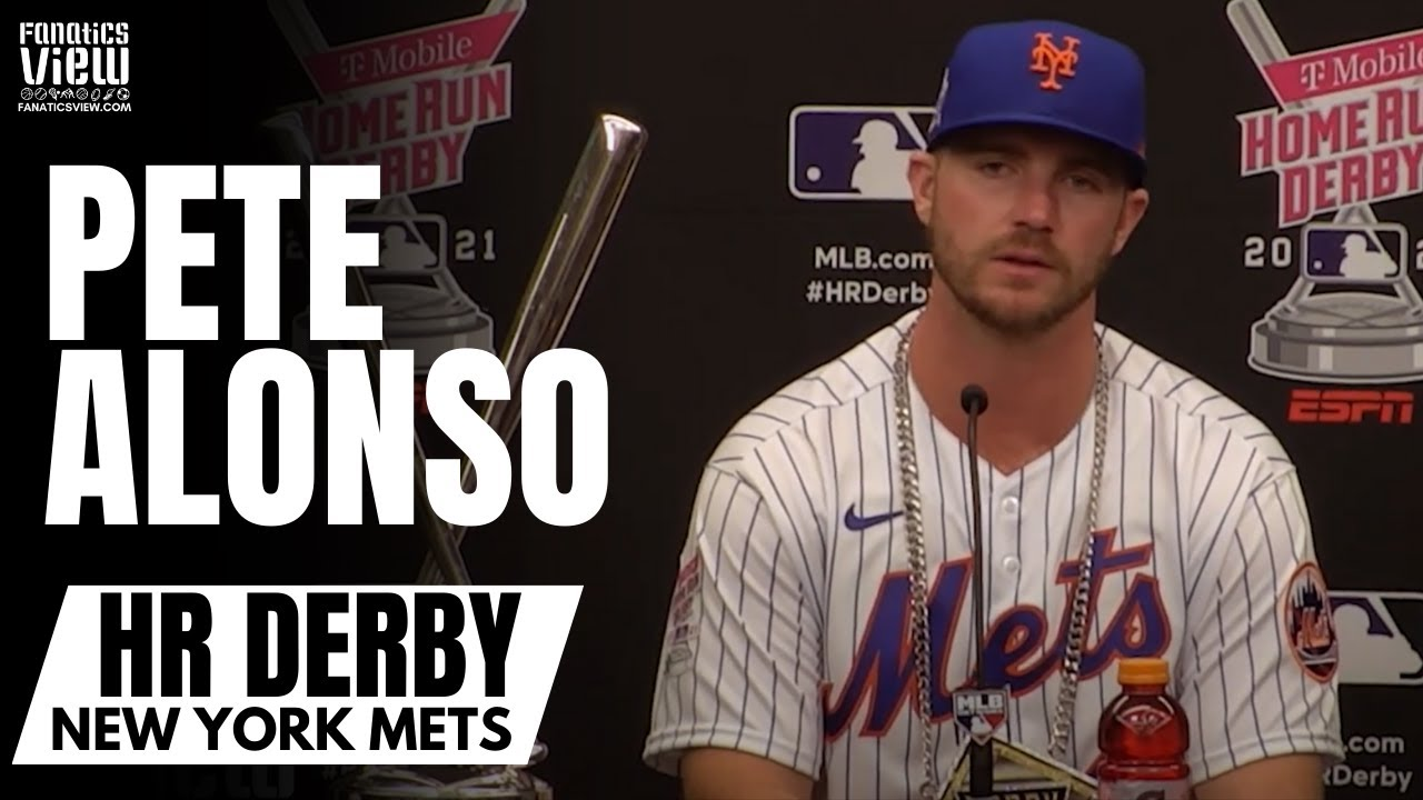 Pete Alonso on Becoming Back-to-Back Home Run Derby Champion:
