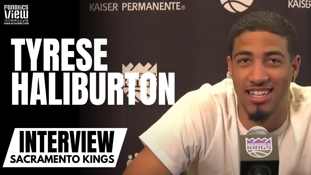 Tyrese Haliburton Previews Kings Season, Talks Sacramento Playoff Chances & Fit With De'Aaron Fox