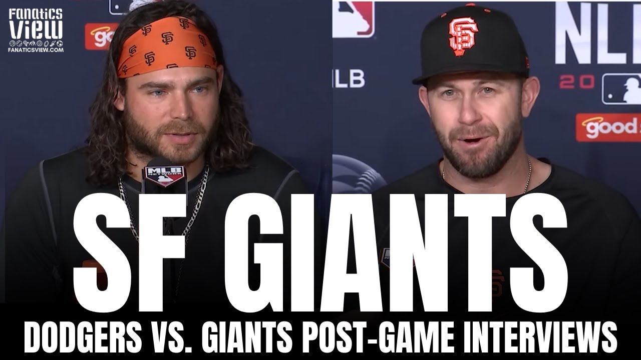 Brandon Crawford & Evan Longoria React to SF Giants Taking a 2-1 Lead vs. Dodgers, Evan's Homer
