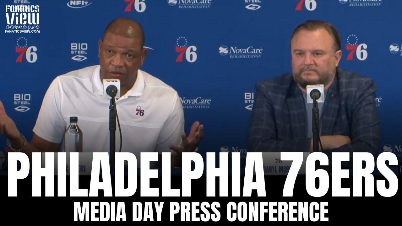 Doc Rivers & Daryl Morey Address Ben Simmons Situation in Philadelphia