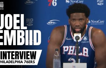 Joel Embiid Details His Disappointment in Ben Simmons Requesting a Trade at 76ers Media Day